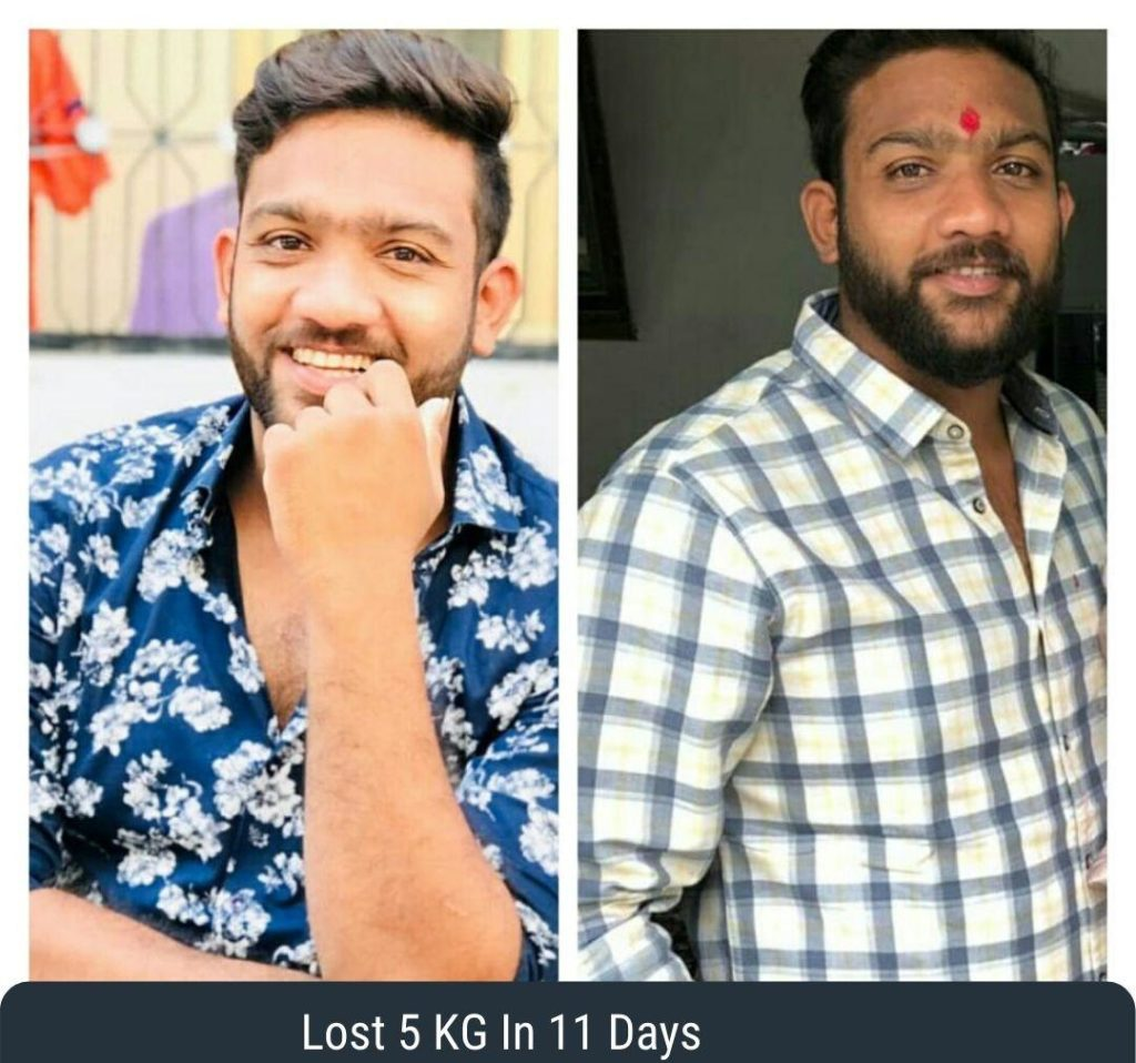 Lost 5 KG in 11 days